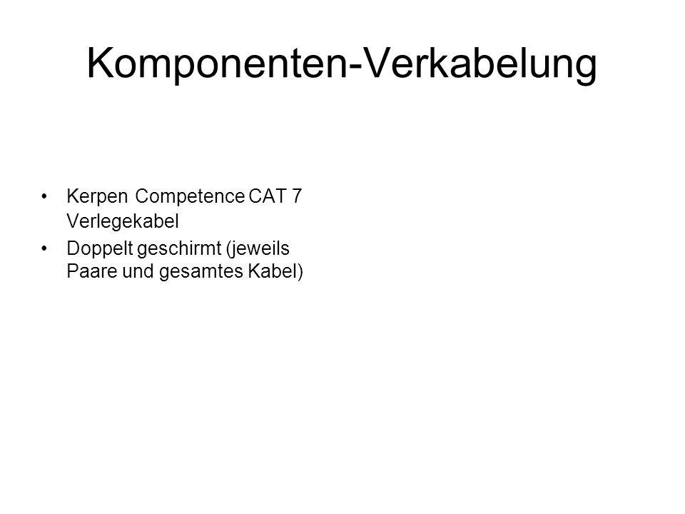 Komponenten-Verkabelung