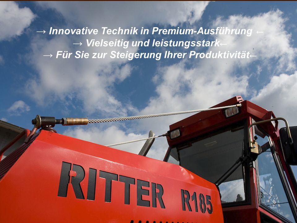 → Innovative Technik in Premium-Ausführung ←