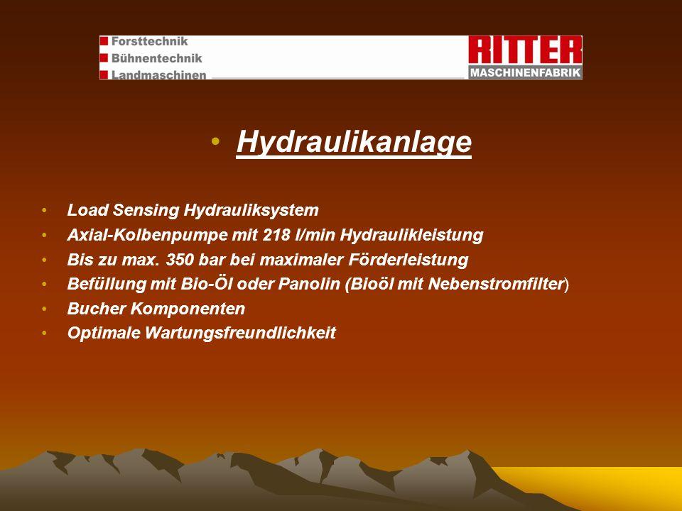 Hydraulikanlage Load Sensing Hydrauliksystem
