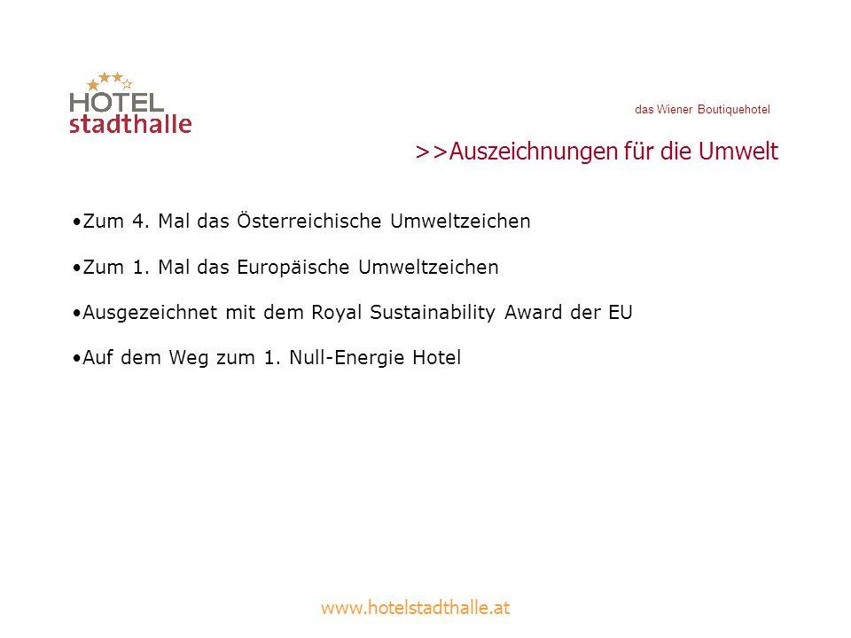 >>Auszeichnungen für die Umwelt