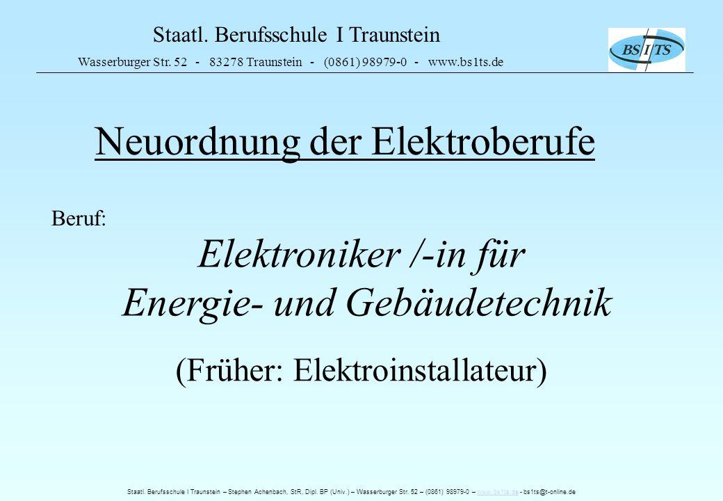 Energie- und Gebäudetechnik