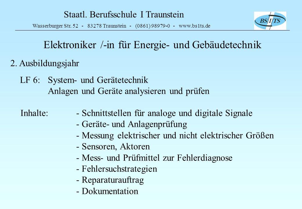 Elektroniker /-in für Energie- und Gebäudetechnik