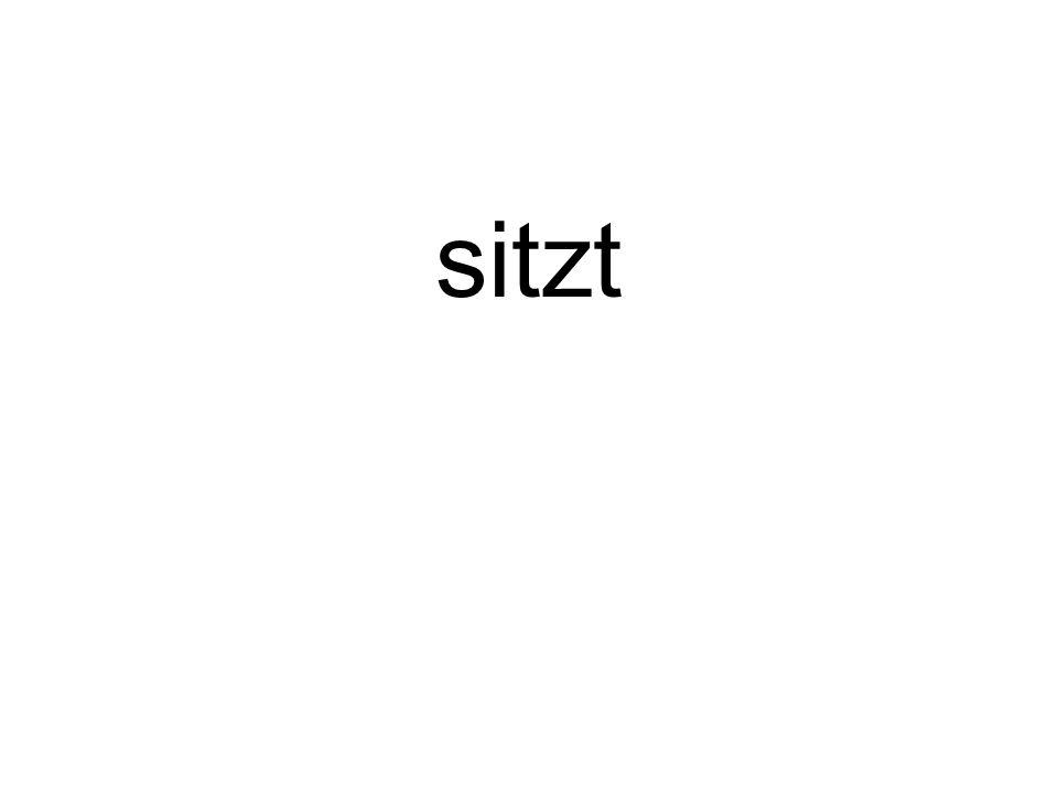 sitzt
