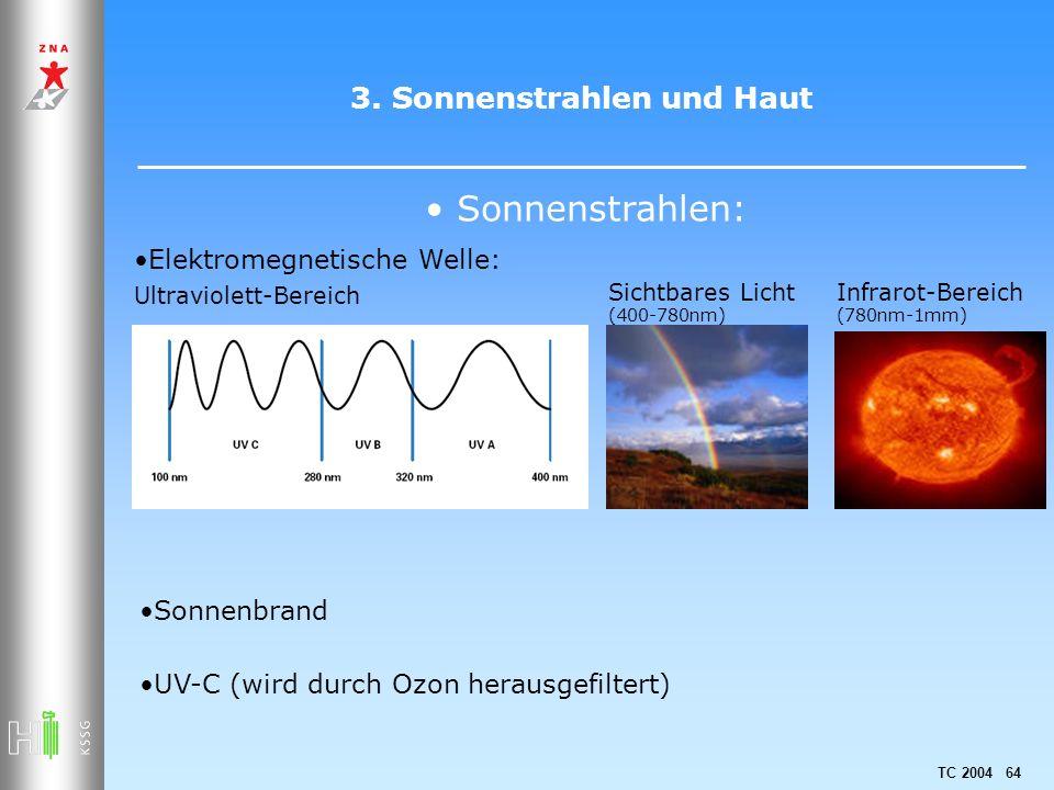 3. Sonnenstrahlen und Haut