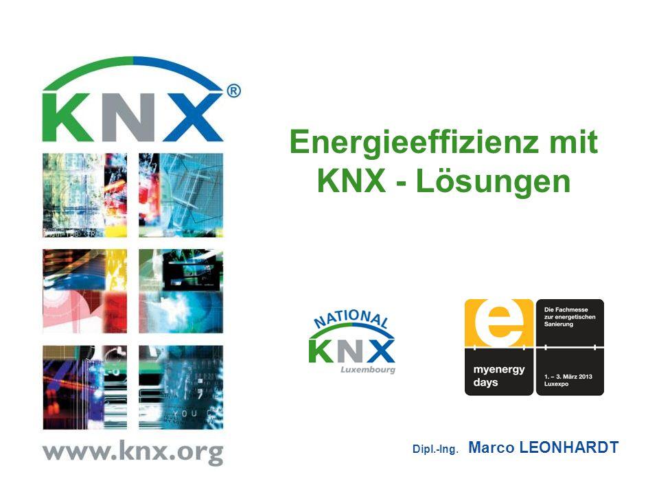 Energieeffizienz mit KNX - Lösungen