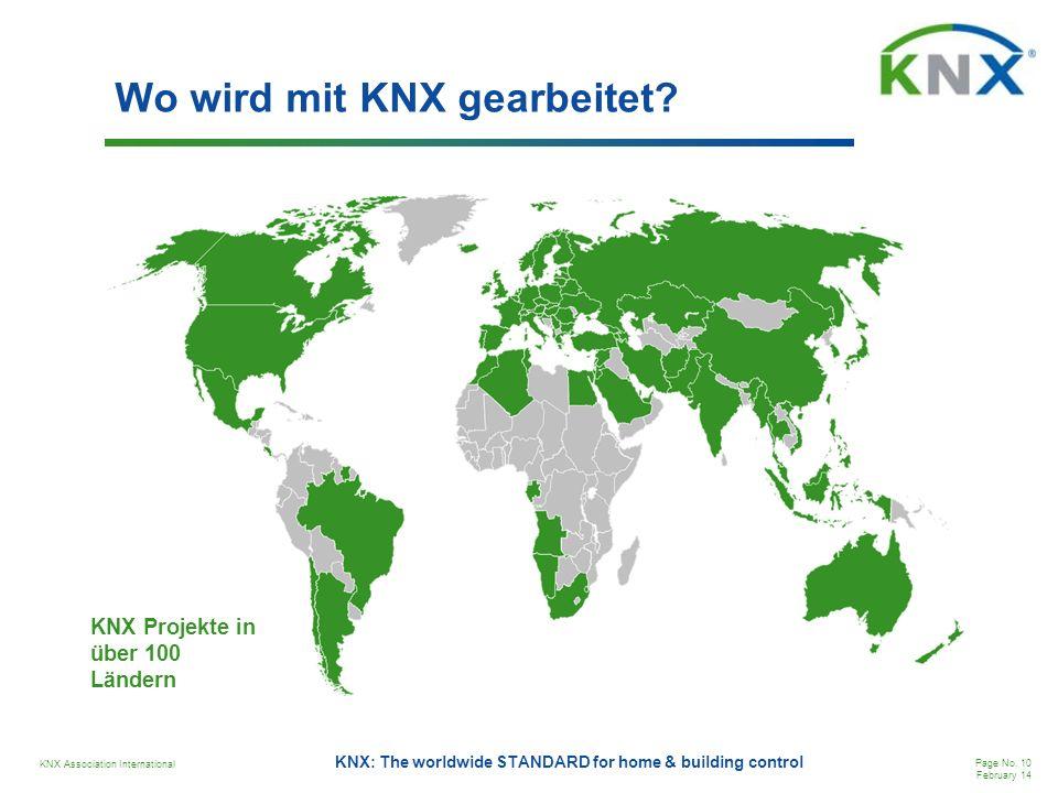 Wo wird mit KNX gearbeitet