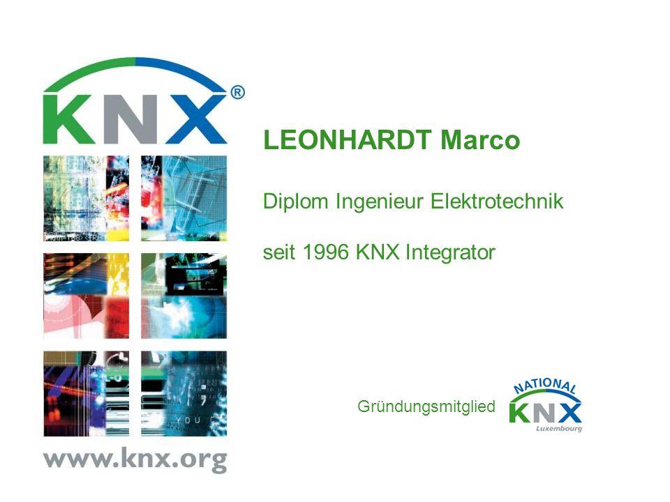LEONHARDT Marco Diplom Ingenieur Elektrotechnik seit 1996 KNX Integrator