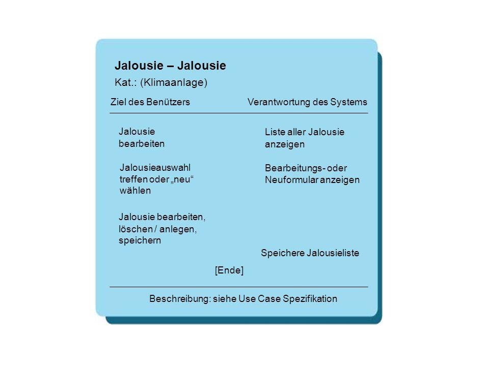 Jalousie – Jalousie Kat.: (Klimaanlage)