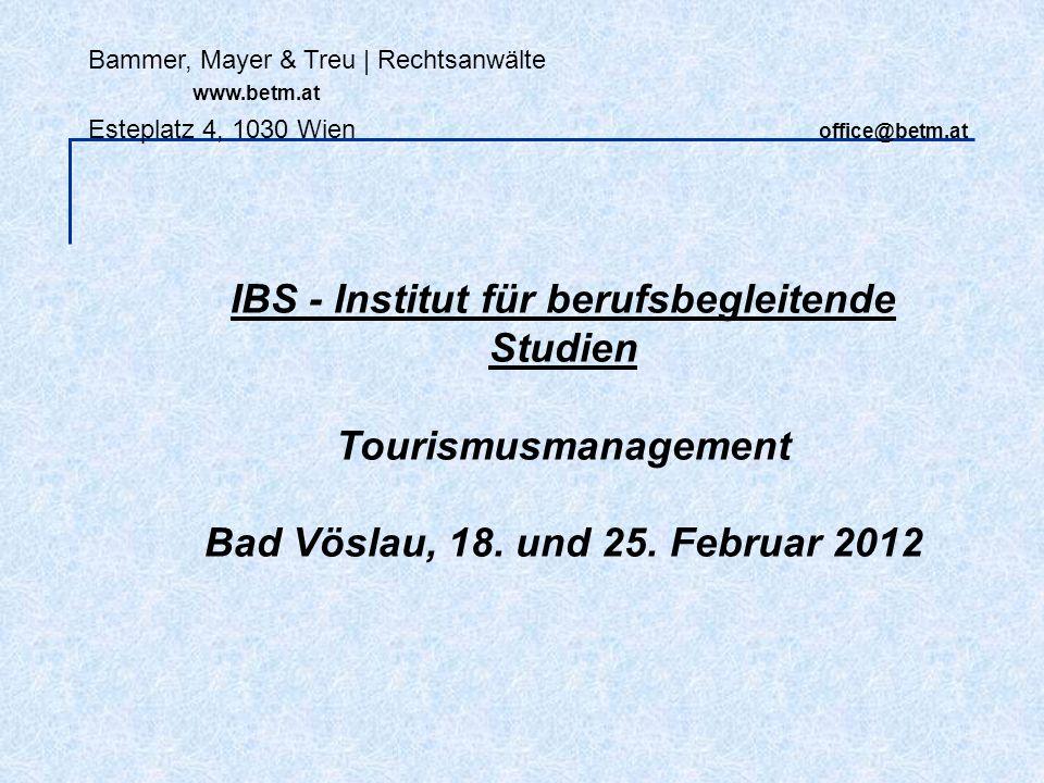 IBS - Institut für berufsbegleitende Studien