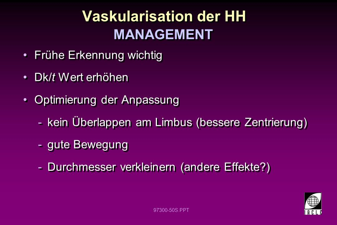 Vaskularisation der HH
