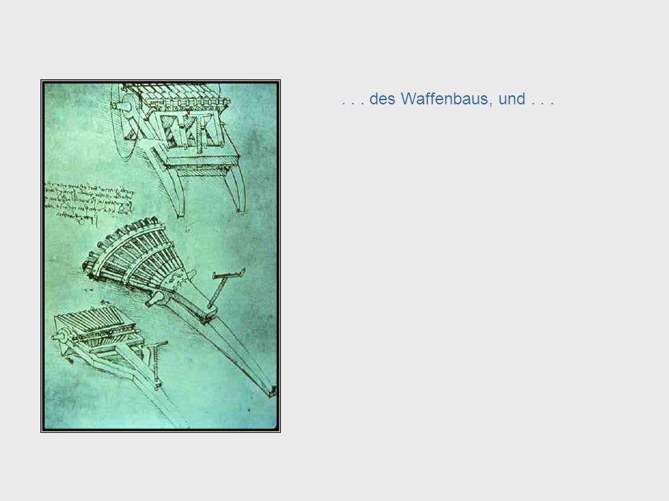 Da Vinci, cont. – Weapons Engineering
