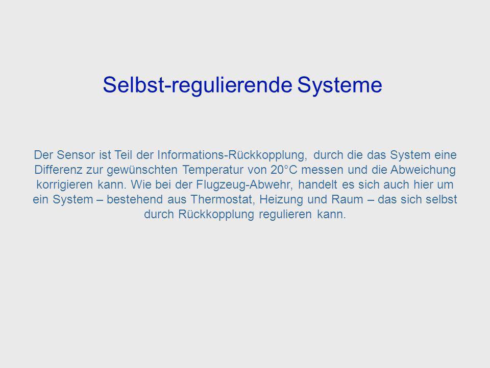 Self Regulating System