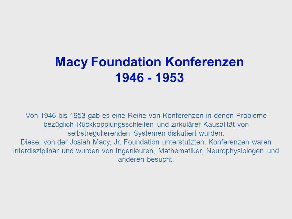 Macy Foundation Meetings