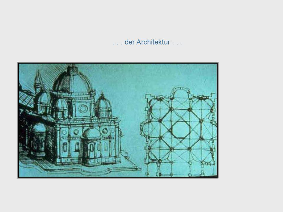 Da Vinci, cont. – Architecture