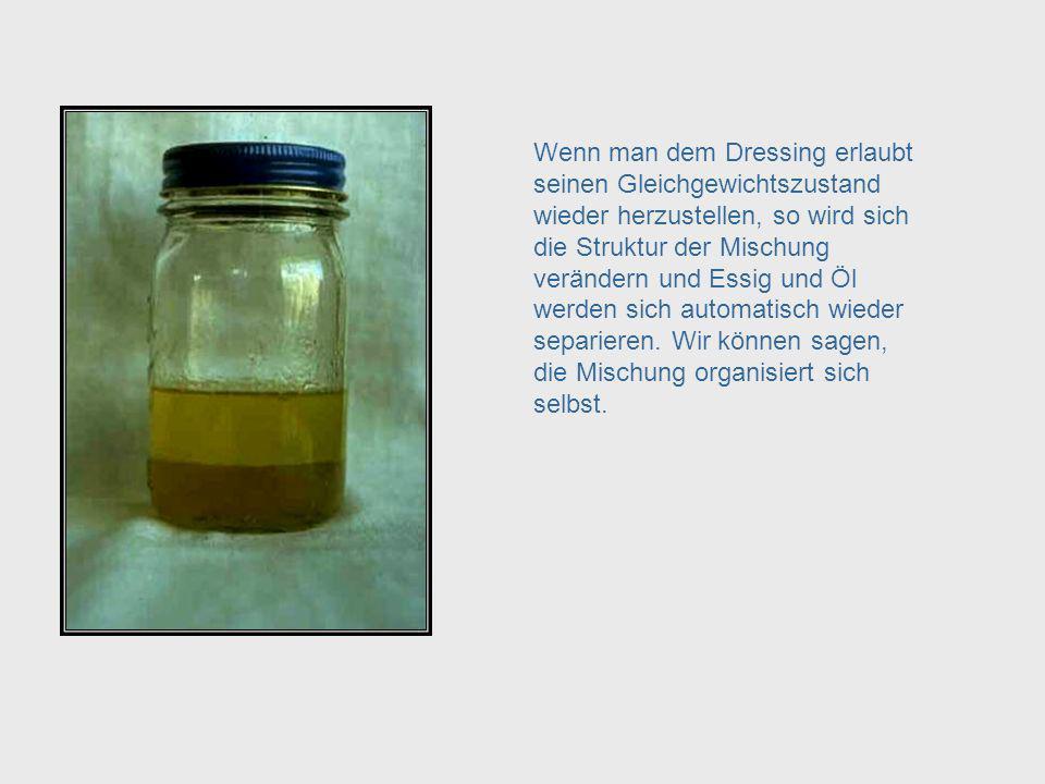 Oil and Vinegar - Equilibrium
