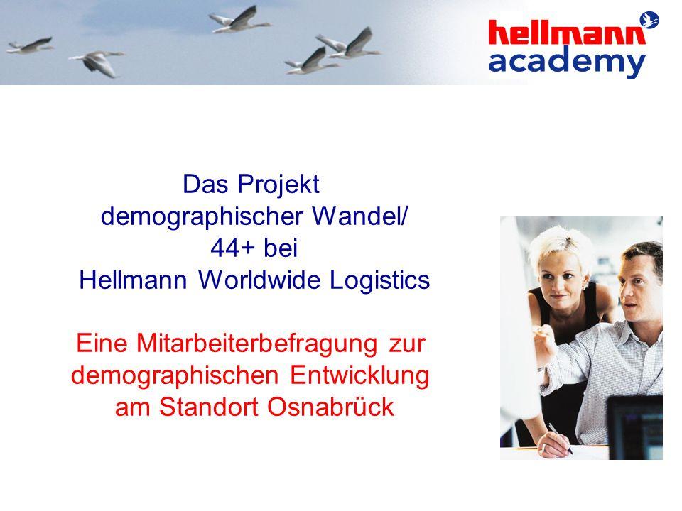 demographischer Wandel/ 44+ bei Hellmann Worldwide Logistics