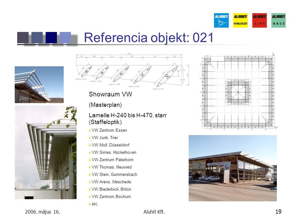 Referencia objekt: 021 Showraum VW (Masterplan)