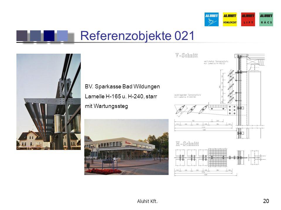 Referenzobjekte 021 BV. Sparkasse Bad Wildungen