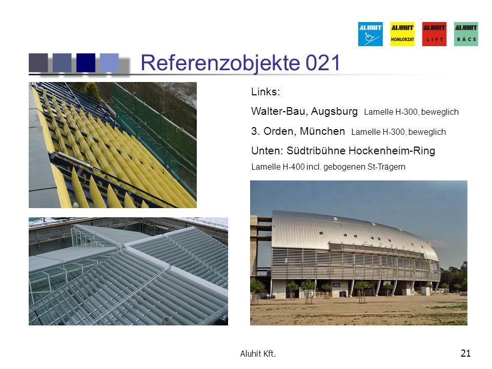 Referenzobjekte 021 Links: