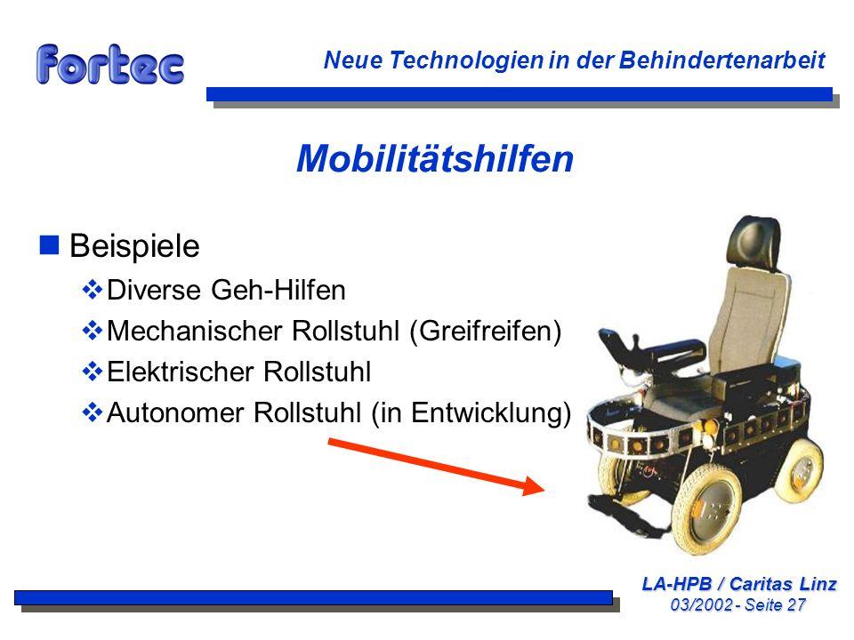 Mobilitätshilfen Beispiele Diverse Geh-Hilfen