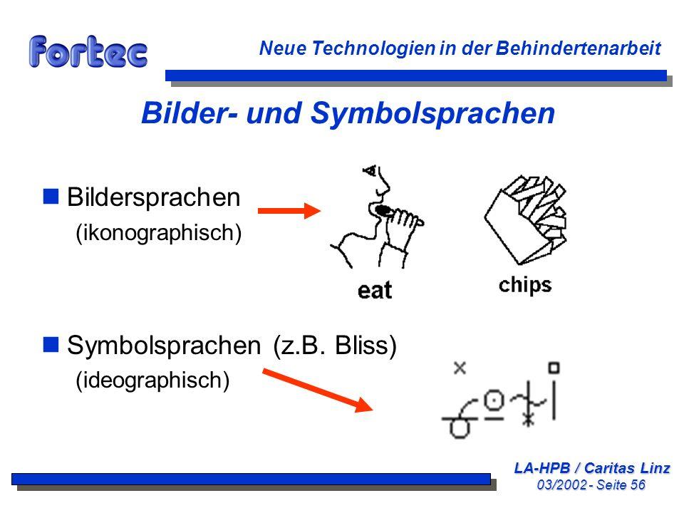 Bilder- und Symbolsprachen