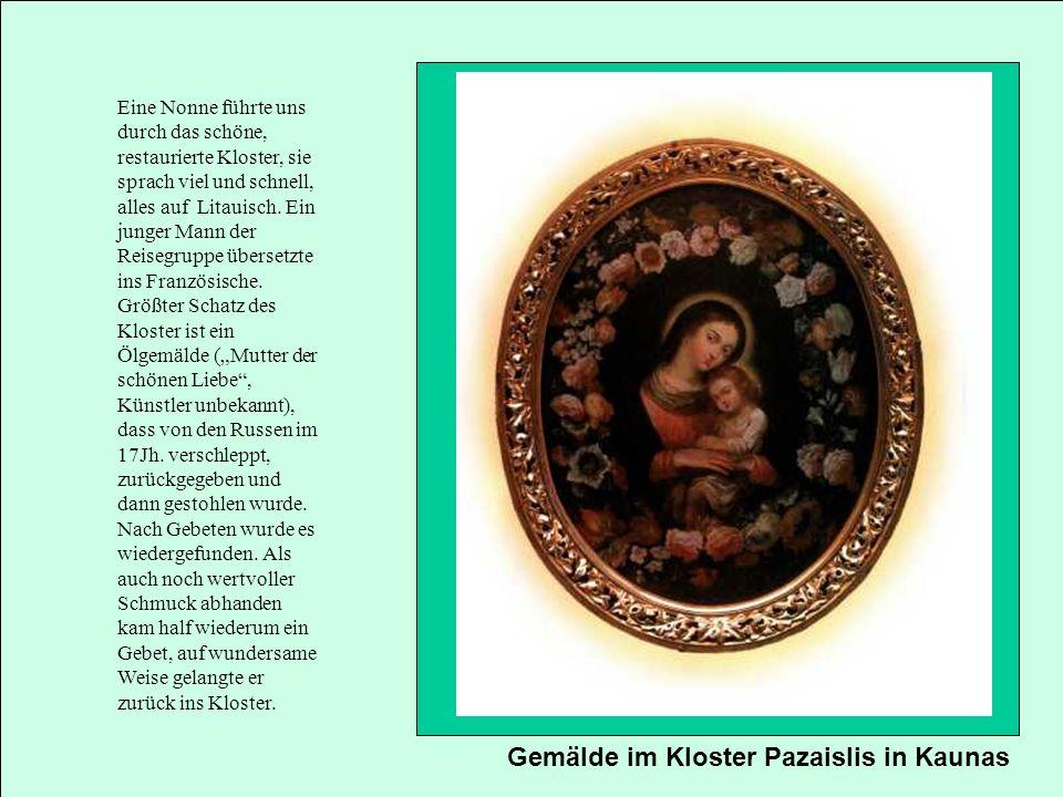 Gemälde im Kloster Pazaislis in Kaunas