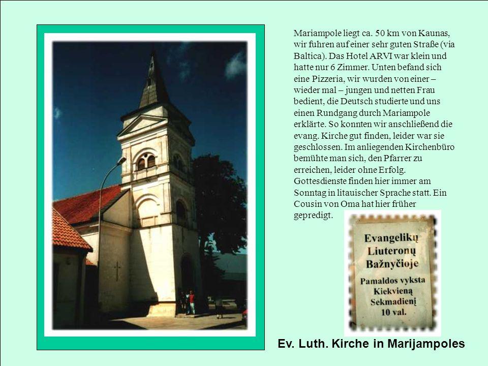 Ev. Luth. Kirche in Marijampoles