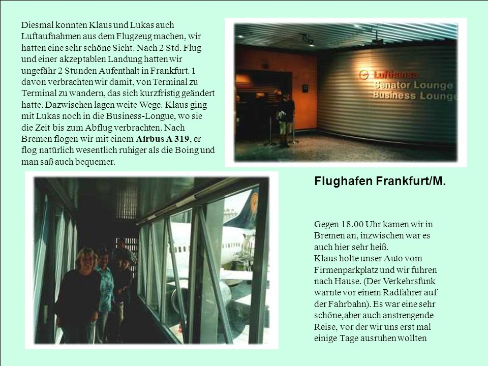 Flughafen Frankfurt/M.