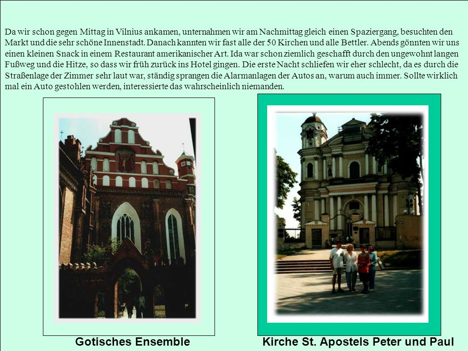 Kirche St. Apostels Peter und Paul