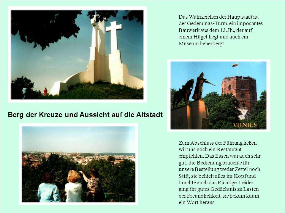 Berg der Kreuze und Aussicht auf die Altstadt