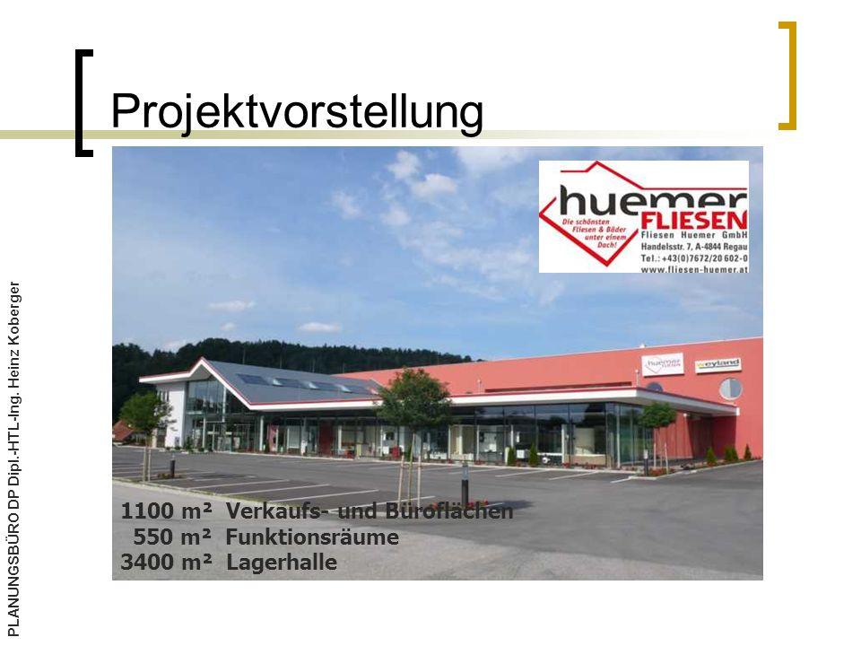 Projektvorstellung 1100 m² Verkaufs- und Büroflächen