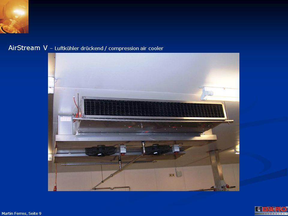 AirStream V – Luftkühler drückend / compression air cooler