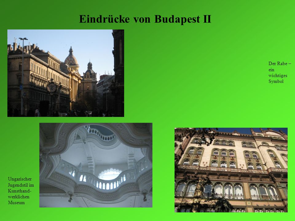 Eindrücke von Budapest II