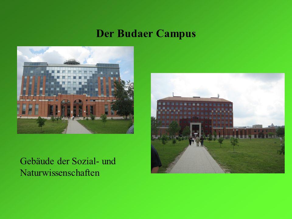 Der Budaer Campus Gebäude der Sozial- und Naturwissenschaften