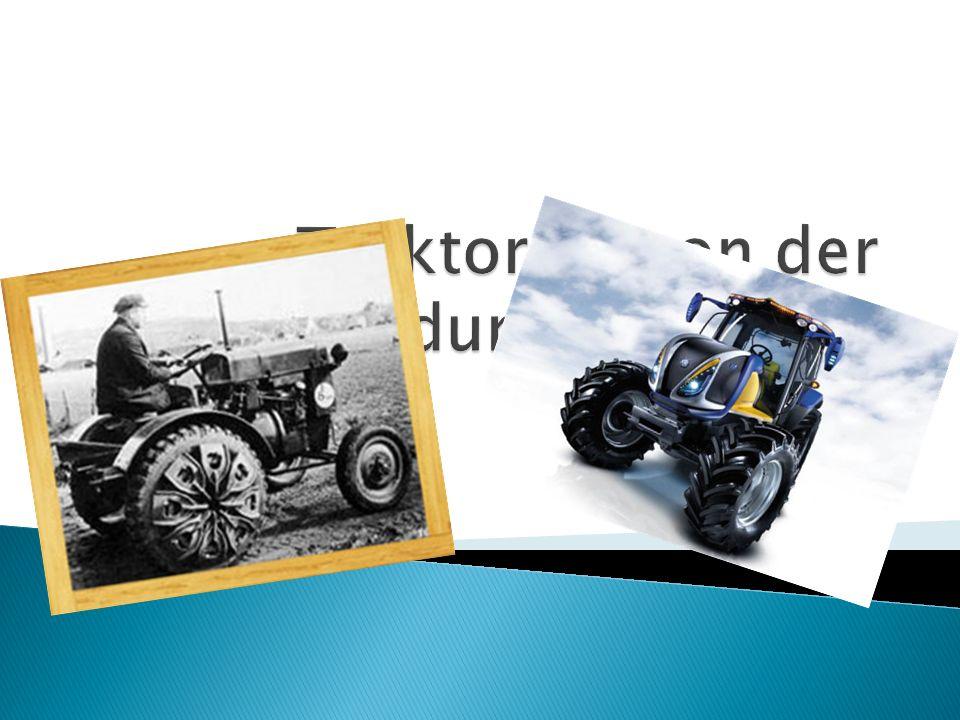 Traktoren, von der Erfindung bis Heute