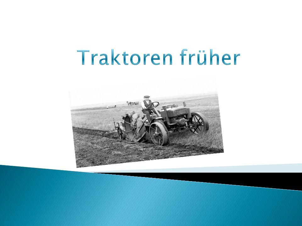 Traktoren früher