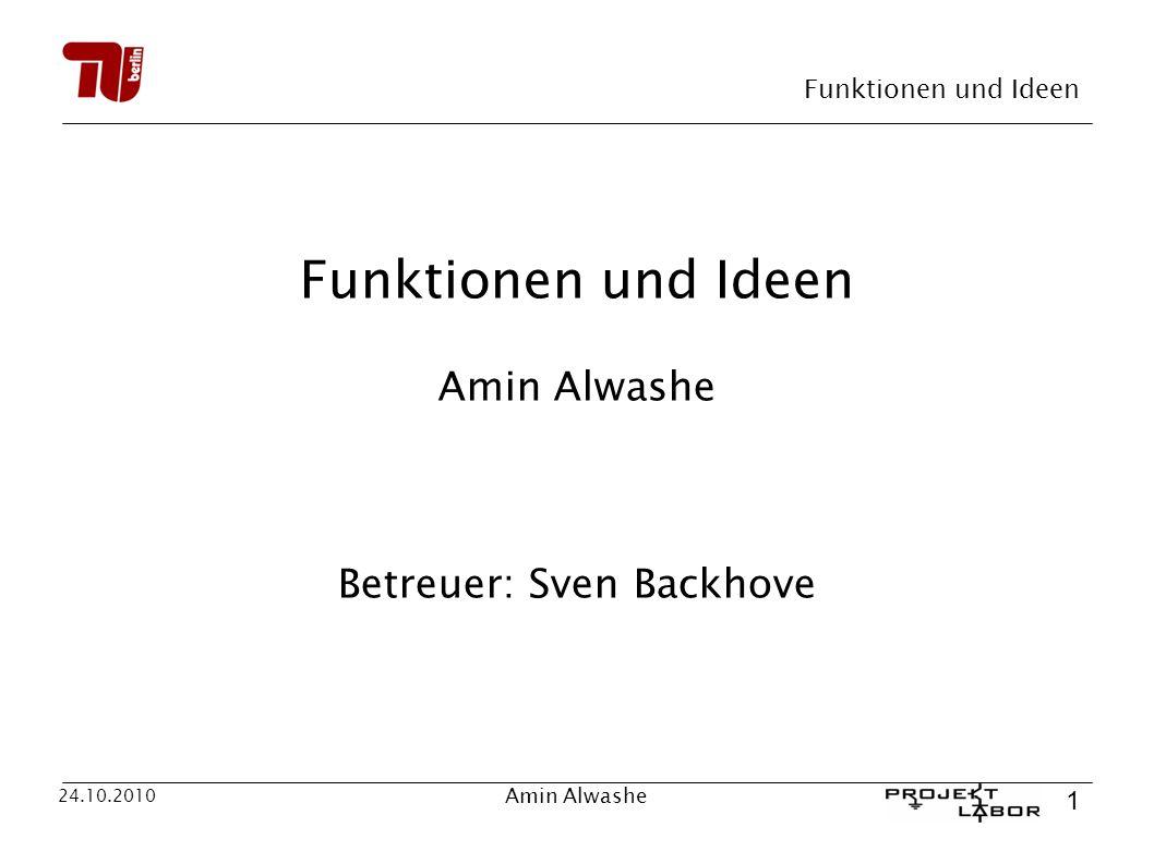 Betreuer: Sven Backhove