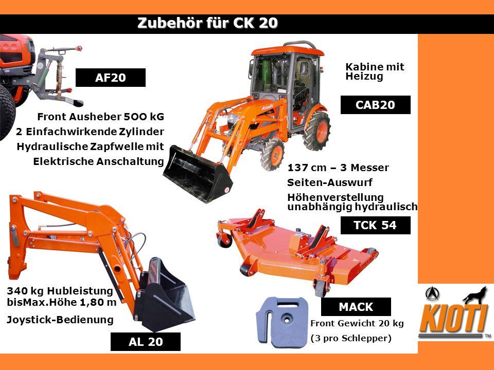 Zubehör für CK 20 AF20 CAB20 TCK 54 MACK AL 20 Kabine mit Heizug