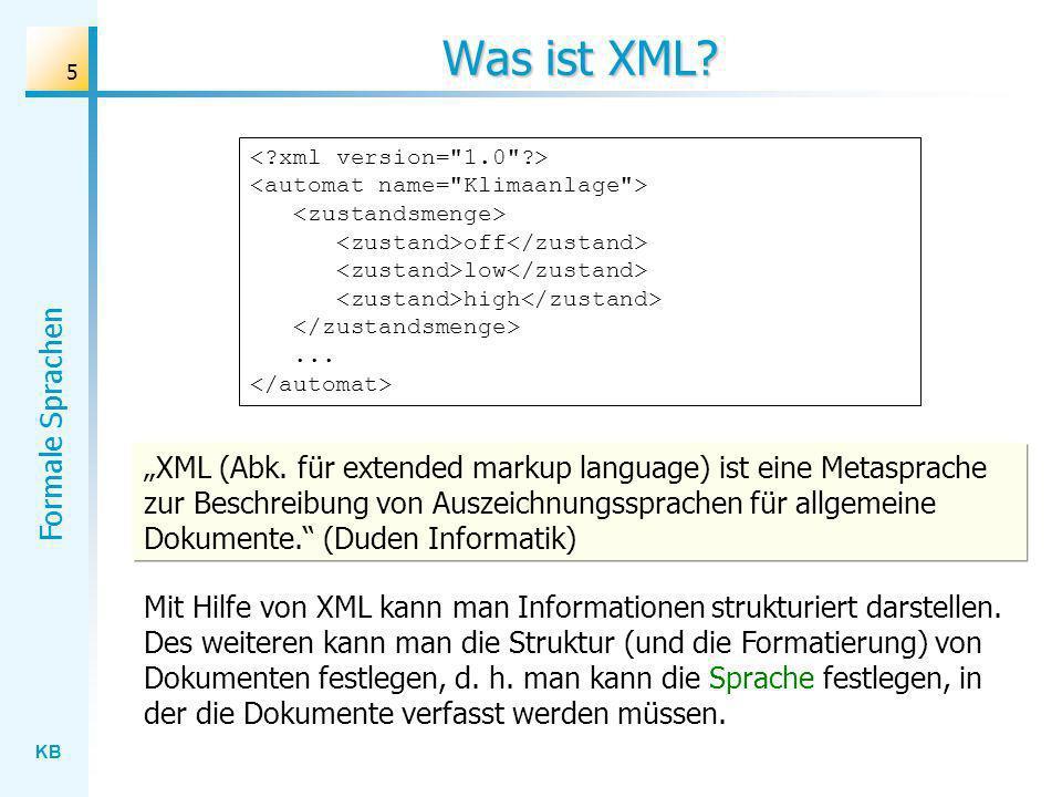 Was ist XML