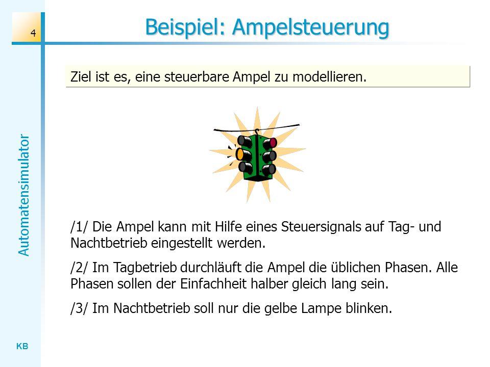 Beispiel: Ampelsteuerung