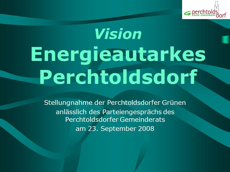 Vision Energieautarkes Perchtoldsdorf