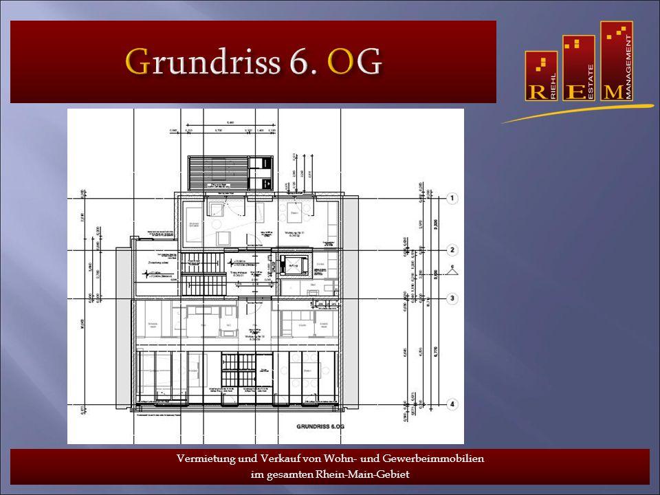 Grundriss 6. OG Vermietung und Verkauf von Wohn- und Gewerbeimmobilien