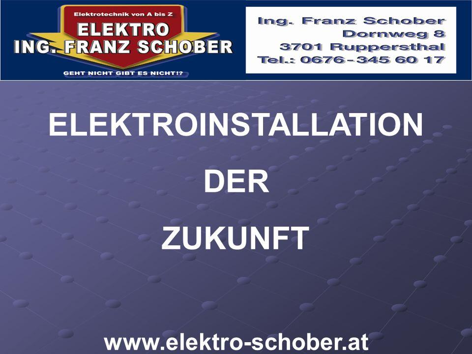 ELEKTROINSTALLATION DER ZUKUNFT