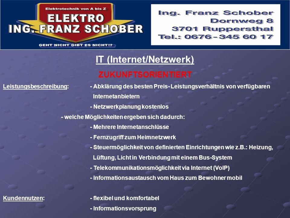 IT (Internet/Netzwerk)