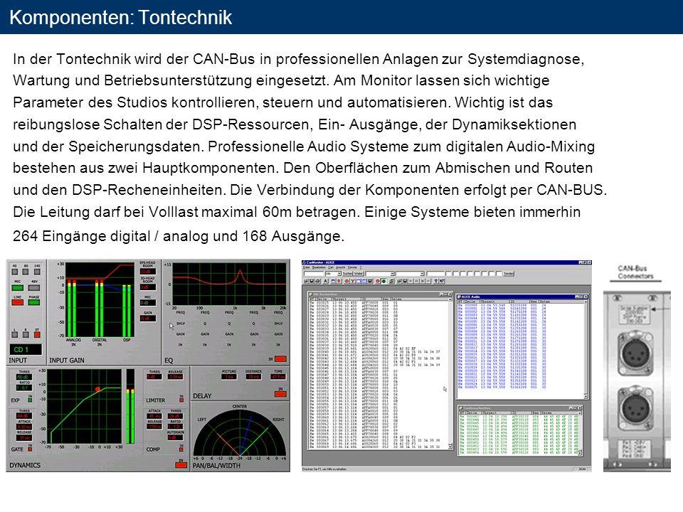 Komponenten: Tontechnik