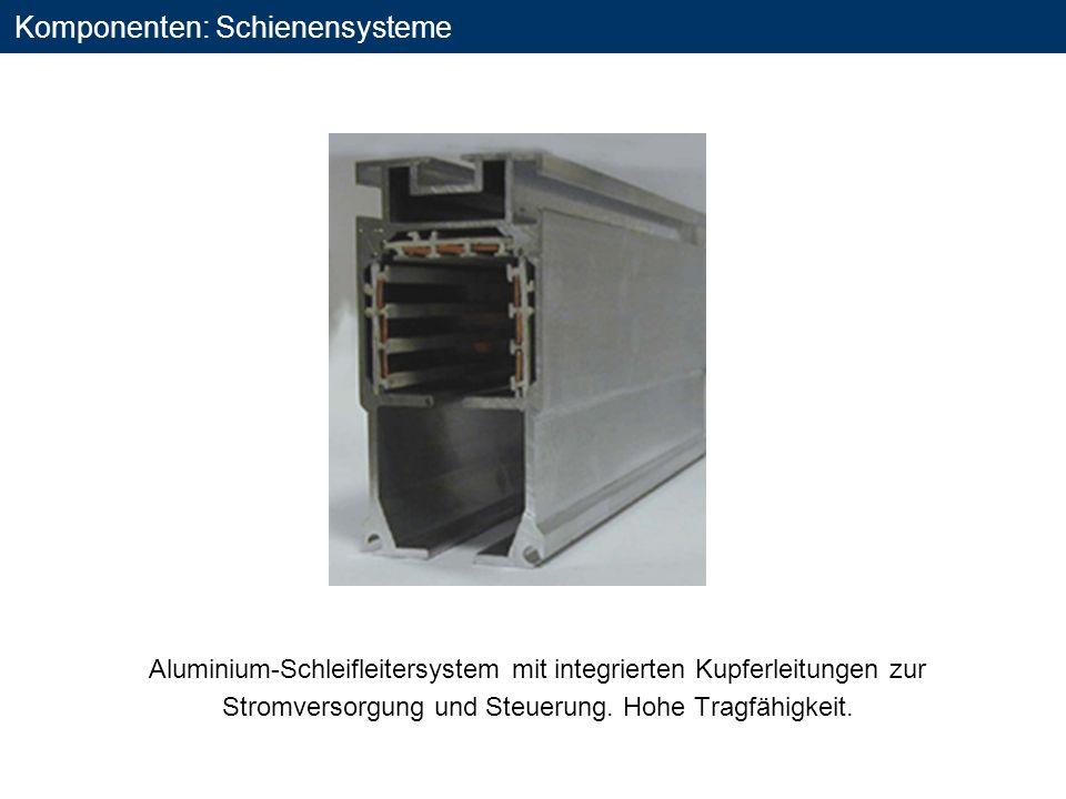 Komponenten: Schienensysteme