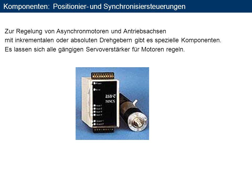 Komponenten: Positionier- und Synchronisiersteuerungen