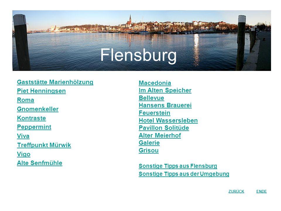 Flensburg Gaststätte Marienhölzung Piet Henningsen Roma Gnomenkeller