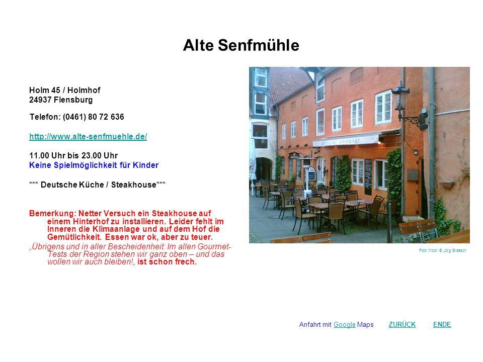 Alte Senfmühle Holm 45 / Holmhof 24937 Flensburg