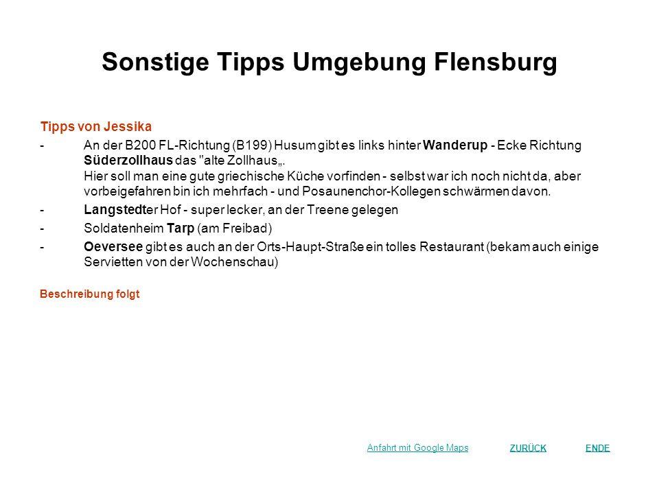 Sonstige Tipps Umgebung Flensburg